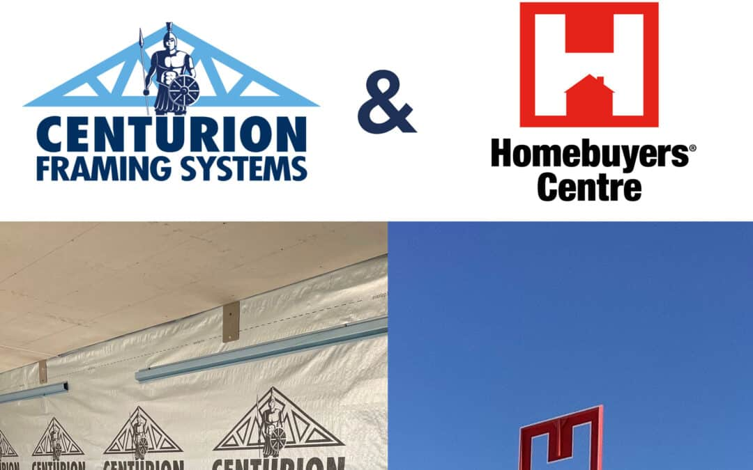 Centurion Framing Systems and Homebuyers Centre Partner for New Steel Framed Display Home