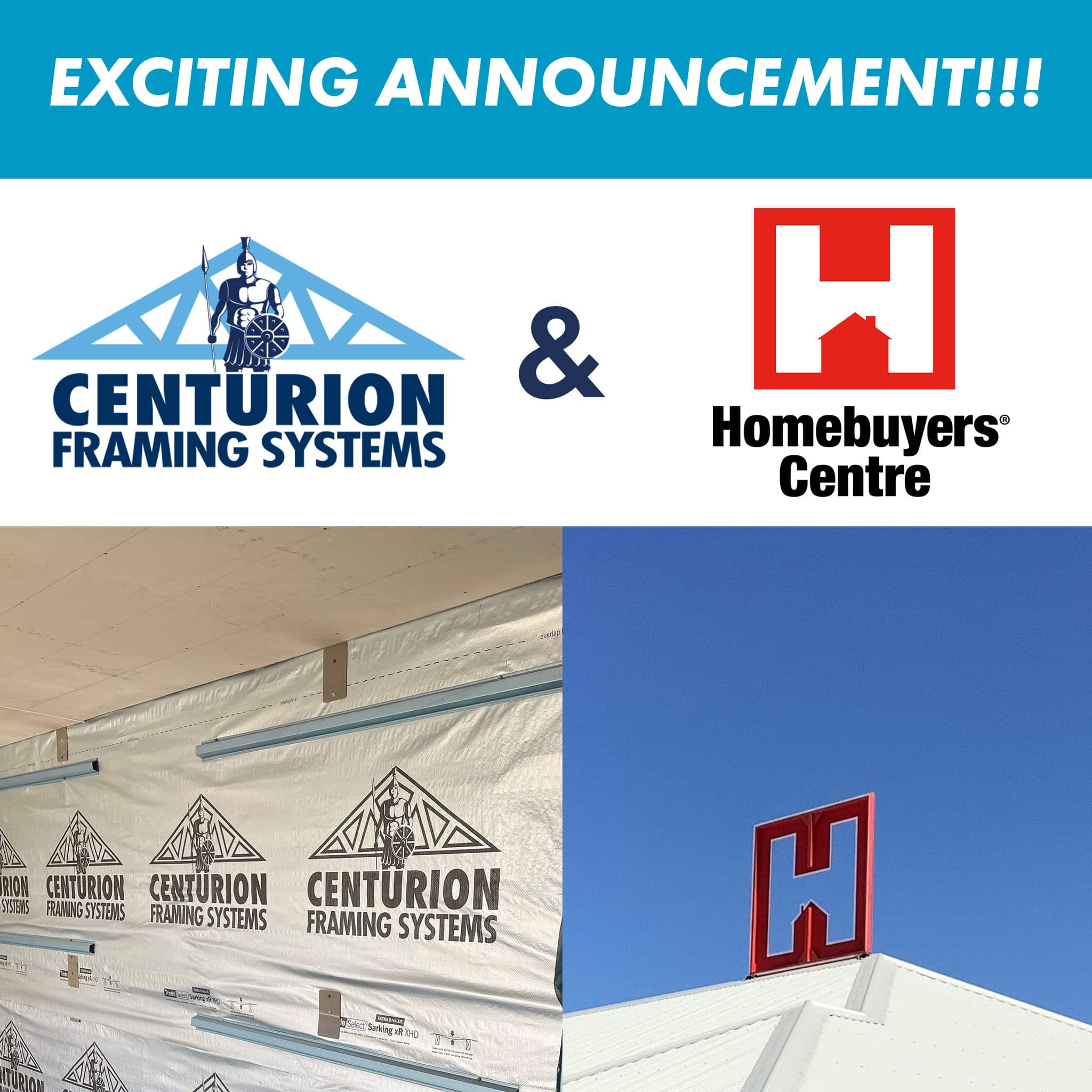Centurion Framing Systems and Homebuyers Centre WA Partner for display home build